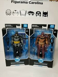 DC Multiverse McFarlane Batman White Knight and Red Knight Variant Exclusive New