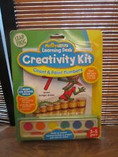 Leap Frog My First Learning Desk Creativity Kit Count and Paint Numbers (NEW)