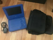 New listing Ematic 7 inch Dvd Player with Headphones and Bag - Blue