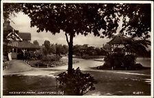Dartford Kent Großbritannien 1938 Valentine Postcard Partie im Hesketh Park