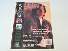 SCREEN POWER:THE JACKIE CHAN MAGAZINE VOL 5 ISSUE 2 2003 NM CONDITION