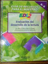 Guia De Recursos Para El Maestro Evaluacion del desarrollo de la lectura K-6