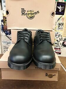 DR MARTENS BLACK ROYAL MAIL SHOE MADE IN ENGLAND SIZE 15