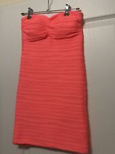 Robe Bustier Corail Neuve Style Pimkie Jennyfer S 36