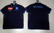 FW13 SSC NAPOLI TG. M MACRON POLO RAPPRESENTANZA OFFICIAL COTTON SHIRT JERSEY