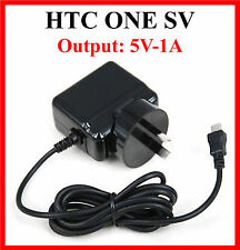 HTC One SV C525e C520e AC Wall Charger 5V-1A