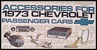 1973 Chevrolet Chevy Accessories Accessory Sales Brochure Original GM 73