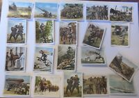Deutsche Armee, Wehrmacht, 20 alte Sammelbilder ca. 40er Jahre ♥ (42879)