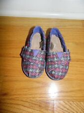 Toddler Toms shoes sz 5T Sparkle pink & Green Exc Cond! So Cute!