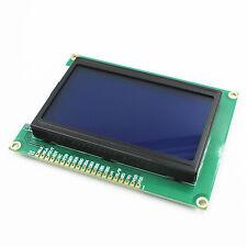 Neu 12864 128x64 LCD Display Modul Blau Hintergrund Grafik Matrix für Arduino