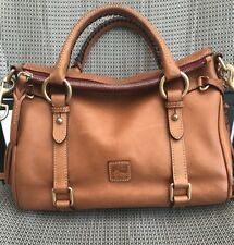 *XLNT ~ Dooney & Bourke Florentine Small Satchel Bag Tote - Natural