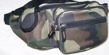 Fanny Pack Camo Water-Resistant Outdoor Mens Waist Travel Pouch Hip Belt Bag