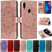 Mandala Wallet Leather Flip Case Cover For Xiaomi A3 Redmi Note 8T Note 8 K20 8A