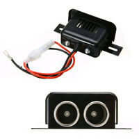 12V Motorcycle Cigarette Lighter Dual 2 Port Socket Plug Power Adapter With Cord