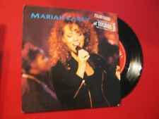 MARIAH  CAREY   2 TITRES    MTV  I' LL BE THERE  45 tours