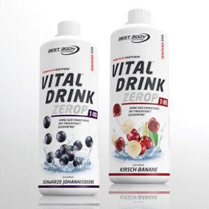Best Body Nutrition Low Carb Vital Drink  2 x 1 Ltr. Mineraldrink 11,45€ /Ltr.