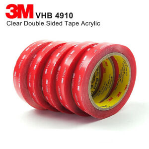 3M™ VHB™ 4910F Transparent Double Sided Adhesive Tape High-Performance Brand 3m