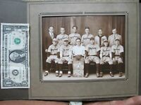 Great 1929 Antique Photo of MAYNARD, MASS. BASEBALL TEAM, Equipment, GIFT