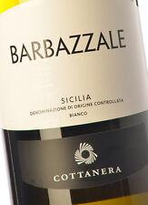12 bottles BARBAZZALE BIANCO igt sicilia 2015 COTTANERA