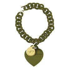 BRACCIALE OPS! LOVE CUORE PENDENTE OPSBR-120-1800 COLORE VERDE MILITARE