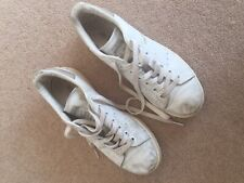 White Mens Adidas Stan Smith Tennis Shoes/Trainers Size 6 1/2