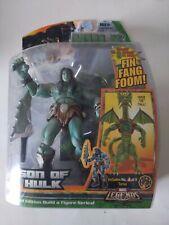 2007 Marvel Legends Son of Hulk - FIN Fang Room Torso BAF wave! New in box