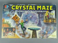 MB Crystal Maze Vintage 90's Family skill Board Game all parts complete
