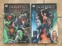 Lot of 2 Complete New DC Injustice Year 2&3 Gods Among Us