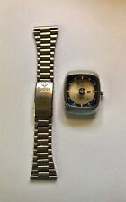 1969 Zodiac Astrographic Mens Wristwatch For Repair Or Parts