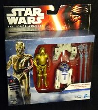 "Star Wars R2-D2 & C-3PO New! 2-Pack The Force Awakens 3.75"" Scale Figures"
