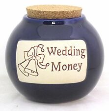 """Muddy Waters """"Wedding Fund"""" Special Day Marriage Vows Ceremony Money Bank Jar"""