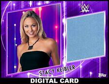 Topps SLAM WWE Stacy Keibler PURPLE MAT Relic WOMENS DIVISION 2021 [DIGITAL]