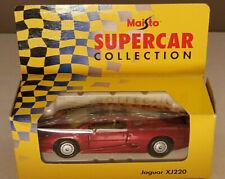 Maisto Supercar Collection Jaguar XJ220 Mint & Boxed Scale 1:40