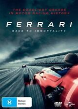 Ferrari : Race To Immortality : NEW DVD