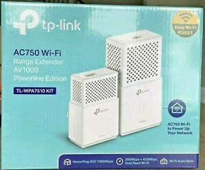 TP-LINK TL-WPA7510 Kit AV1000 Gigabit Powerline Wi-Fi Kit