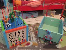 Cube Activités Et Chariot De Marche Moulin Roty
