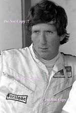 Jochen Rindt Gold Leaf Team Lotus F1 Portrait 1970 Photograph 2