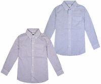 Boys Ex GAP Check Shirt Boy Long Sleeve Cotton Top Ages 4 5 6 7 8 10 12 14 16 Yr