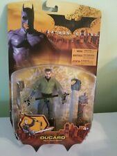 Batman Begins Movie Ducard Action Figure 2005 Mattel Moc