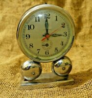 Vintage Alarm Clock Made In China Diamond Wind-Up Alarm Clock Mechanical #35