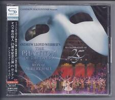 ANDREW LLOYD WEBBER The Phantom Of The Opera 25th Anniversary  2cd JAPAN SHM cd