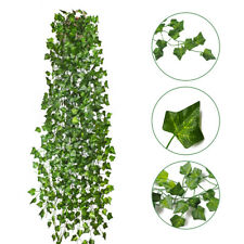 12pcs Artificial Simulation Creeper Vine Greenery Plants Wedding Home Room Decor
