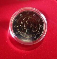 "Monaco 2 Euro comm. BU coin 2011 ""Wedding Albert & Charlene"" NIB w/ COA"