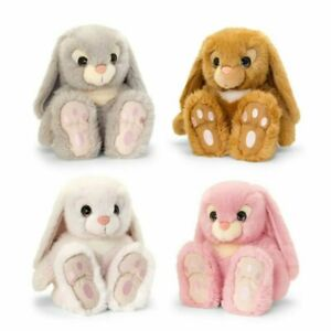 KEEL TOYS 35CM SIGNATURE CUDDLE BUNNY SOFT TOY (CHOICE OF 4) one supplied