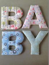 "Gisela Graham Vintage Fabric ""Baby"" Padded Letters - Nursery Decoration - Craft"