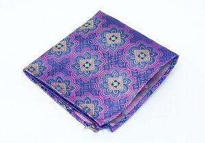 Lord R Colton Masterworks Pocket Square - Las Lajas Pink Silk - $75 Retail New