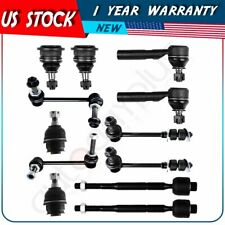 For TOYOTA 4RUNNER & LEXUS GX470 Tie Rods Sway Bars Upper Lower Ball Joints x12