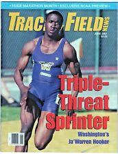 2001 Track and Field News Ja' Warren Hooker Sprinter Huge Marathon Month NCAA