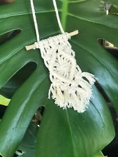 Macrame Rearview Mirror Hanger