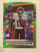 ANTONIO GANDY-GOLDEN 2020 DONRUSS OPTIC RATED ROOKIE RC LIME GREEN PRIZM /35